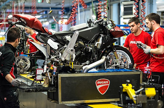 Ducati Production Line