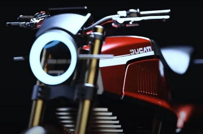 Electric Ducati Front