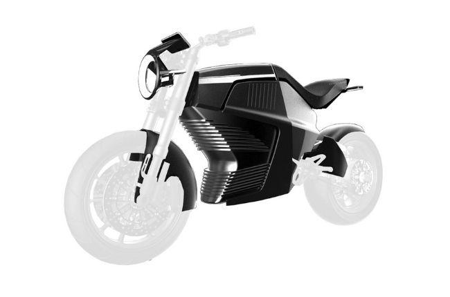 Electric Ducati render