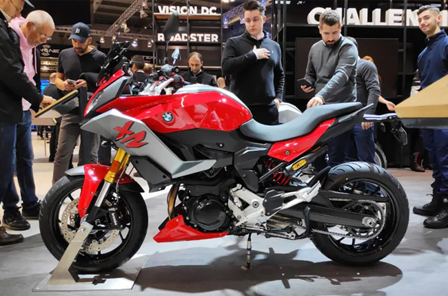 F900 XR at EICMA