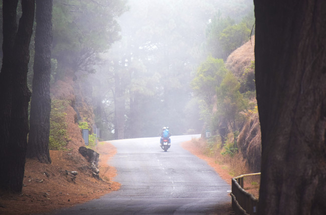 Foggy Weather Riding
