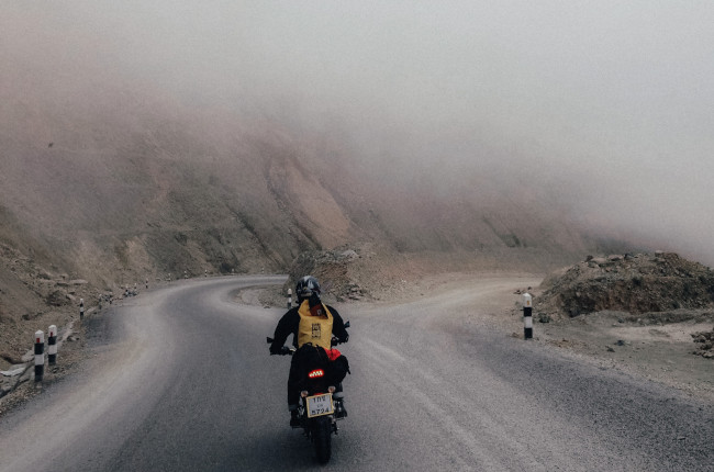 Foggy Weather Riding Off Road