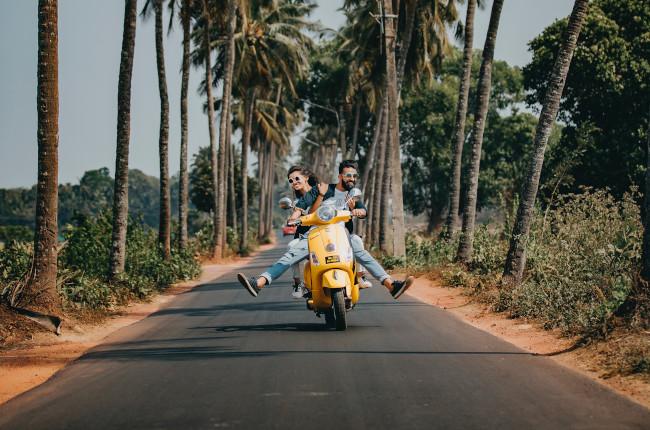 Free spirited riding