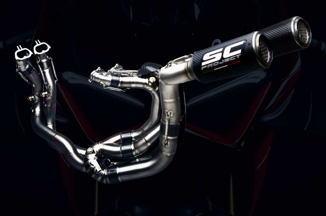 Full-system exhaust