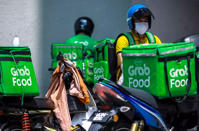 Grab Delivery Rider