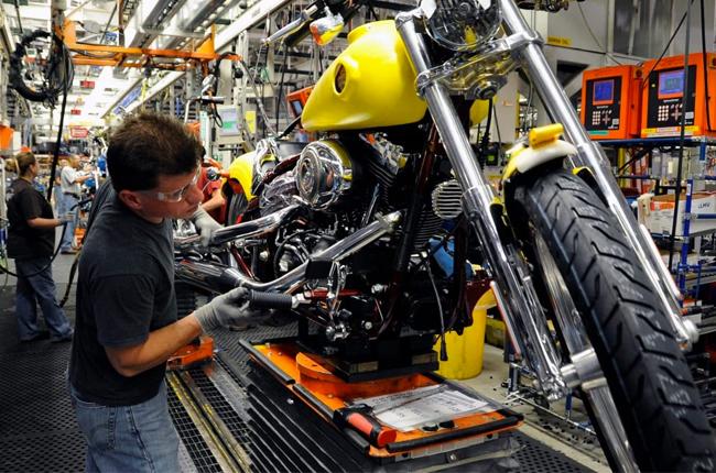 Harley-Davidson Assembly Line