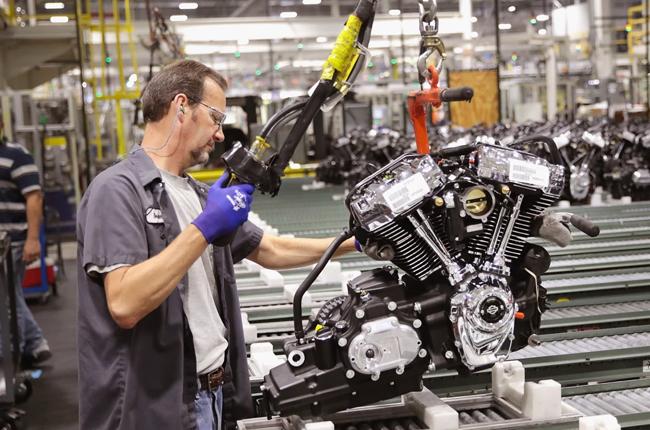 Harley-Davidson Production Line