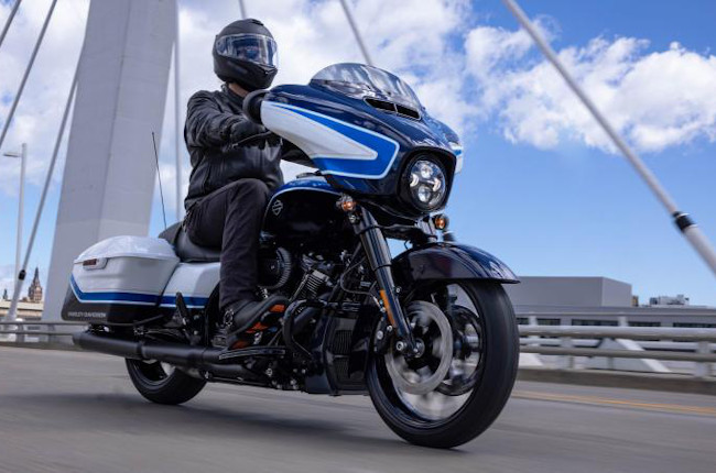 Harley-Davidson rolls out limited edition Street Glide Special in stunning Arctic Blast colorway