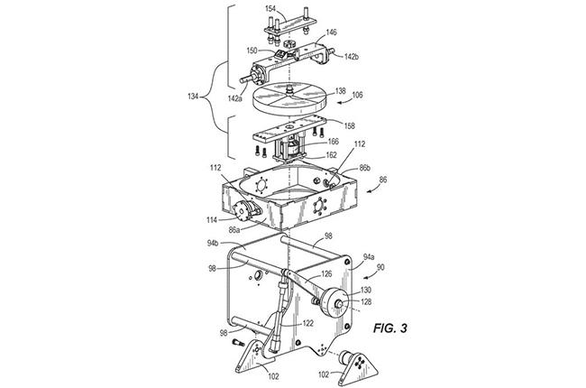 Harley-Davidson Self-Balancing Patent