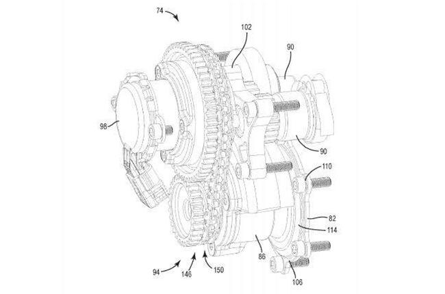 Harley-Davidson VVT Patent