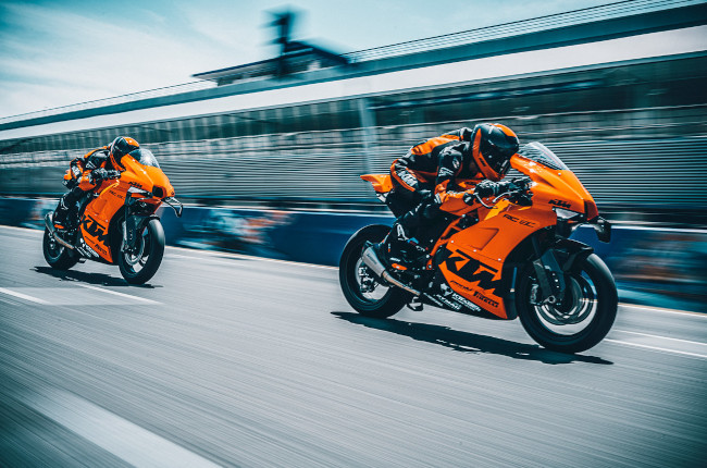 Here's why you should ride on the race track