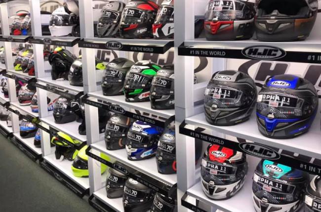 HJC Helmet Selection