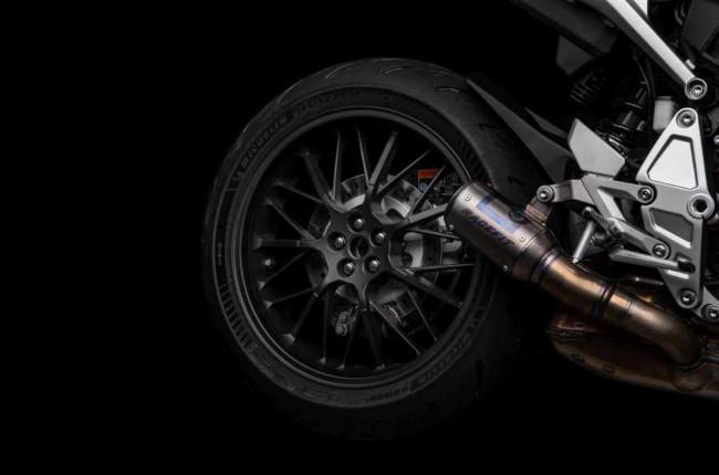 Honda CB100R 5Four Single-sided swingarm