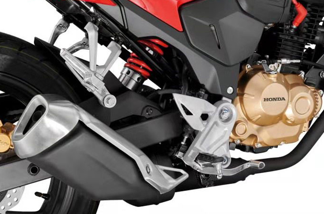 Honda CBF 190R Exhaust