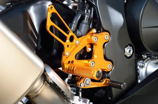 Honda CBR500R Foot Pegs