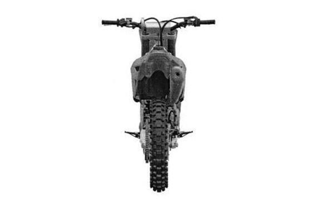 Honda CRF450R Patent