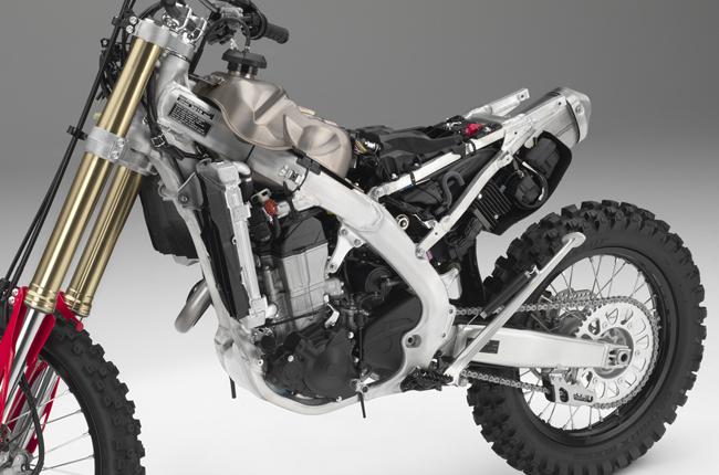 Honda CRF450X Chassis