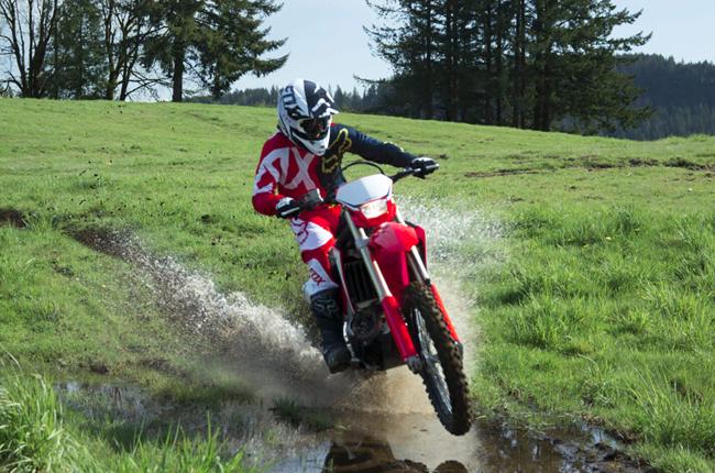 Honda CRF450X Mud