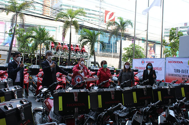 Honda Donates to PRC