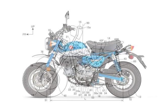 Honda Monkey Patent