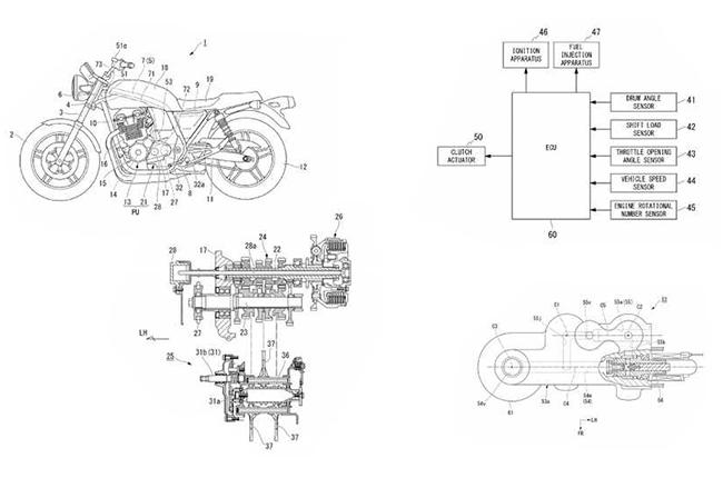 Honda Quickshifter Patent