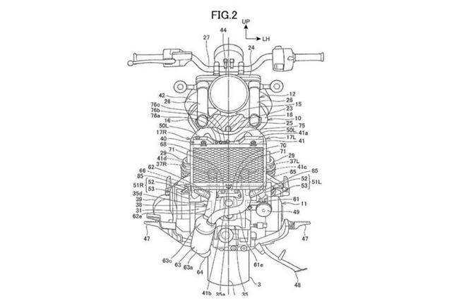 Honda Rebel 1100 Patent