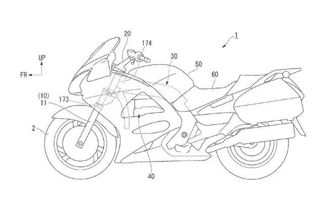 Honda Self-steering technology patent