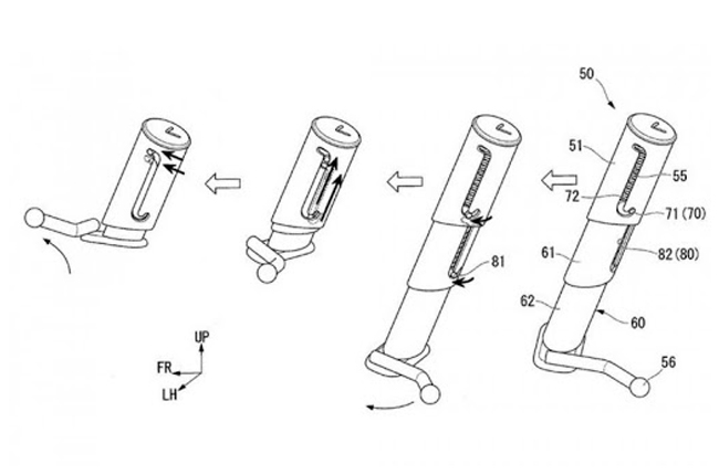 Honda Side Stand Patent
