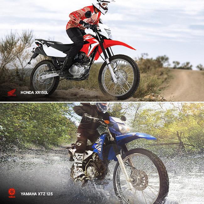 Honda XR150L versus Yamaha XTZ 125 - Head to head