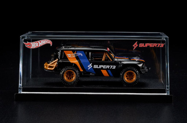 Hot Wheels x SUPER73-RX Ford Bronco