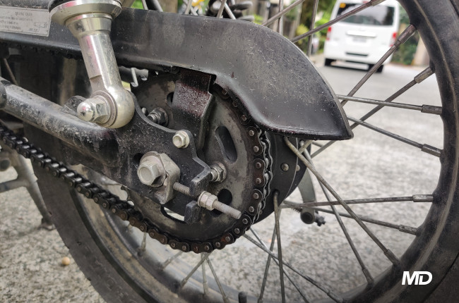 How to buy a second-hand motorcycle Chain