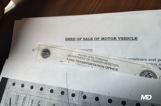 How to buy a used motorcycle Documents