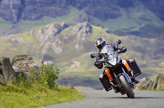 How to master the heft of your adventure bike