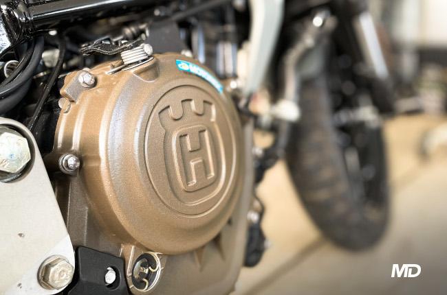 Husqvarna Svartpilen 401 Engine Case