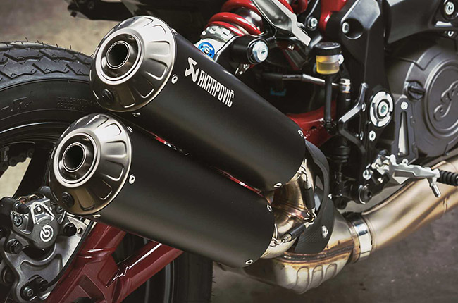 Indian FTR 1200 Exhaust