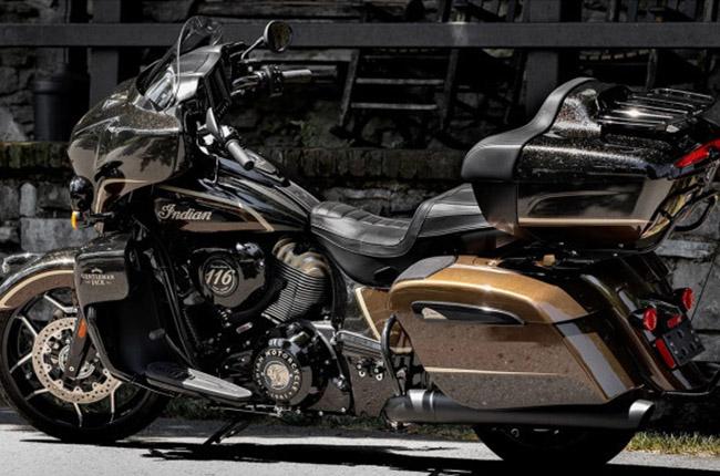 Indian Roadmaster Dark Horse Jack Daniel's edition