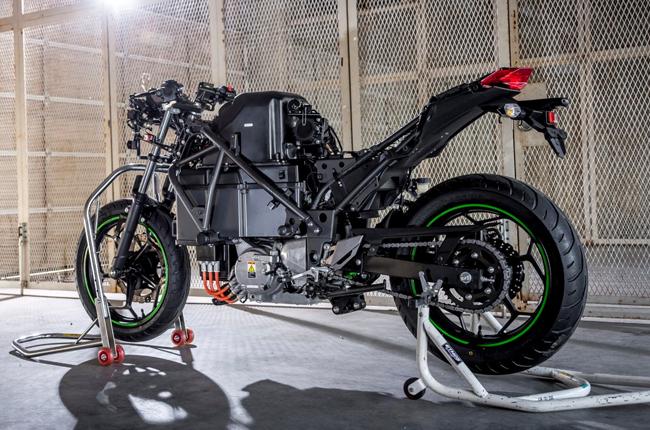 Kawasaki Endeavor Frame
