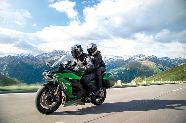 Kawasaki H2 SX Pillion Riding