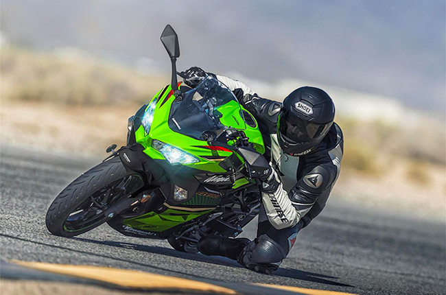 Kawasaki Ninja 400 Press Photo