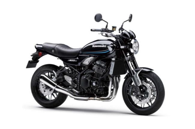 Kawasaki Z900RS Blue and Black