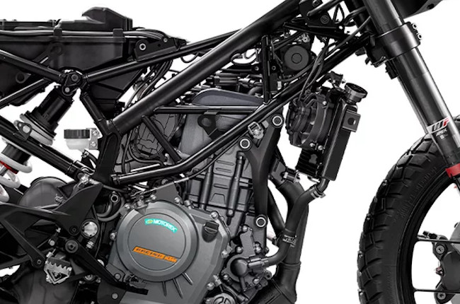 KTM 390 Adventure Frame