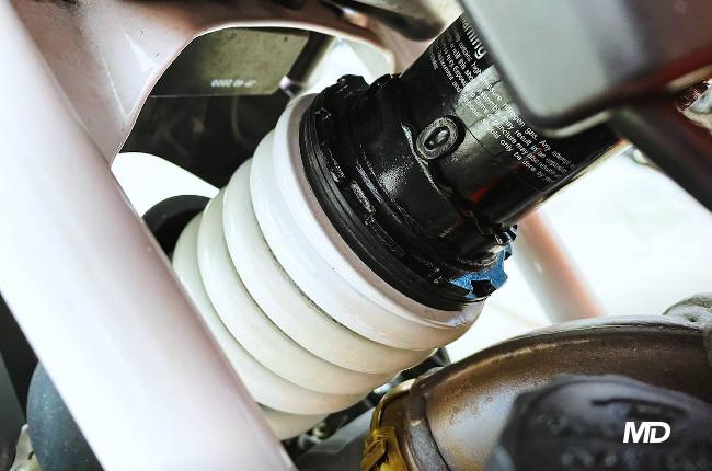 KTM 390 Duke Preload Adjustment