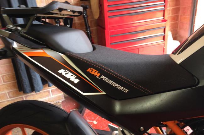 KTM Duke Touring Seat
