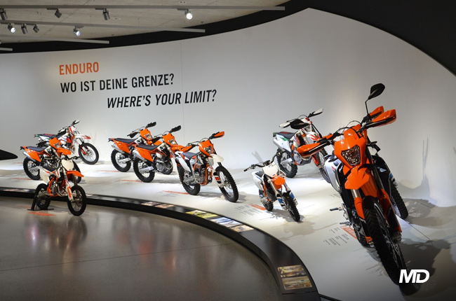 KTM Enduro Display