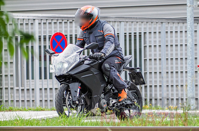 KTM RC 390 Prototype