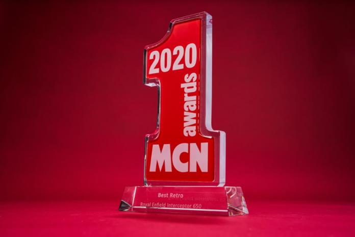 MCN Best Retro Bike Award