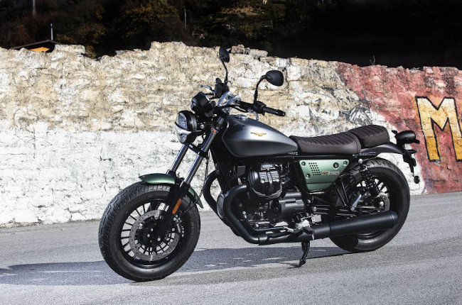 Moto Guzzi V9 Bobber Centennial Edition