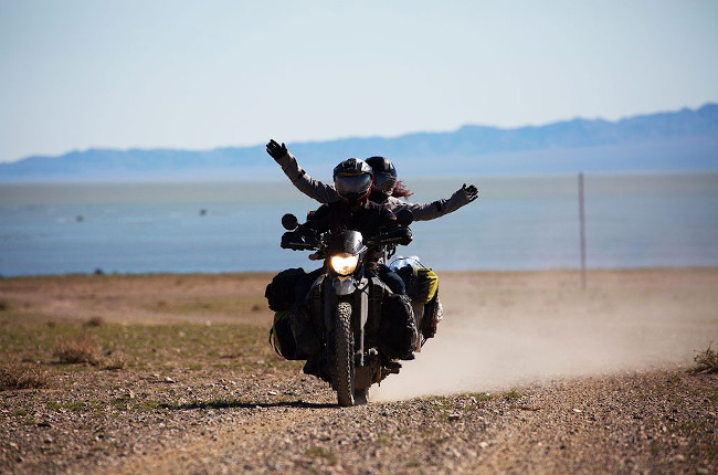 Motorcycle Adventure With Passenger Pillion