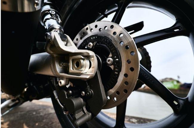 Motorcycle disc brake