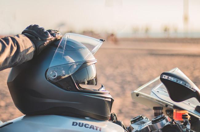 Motorcycle Full-Face Helmet